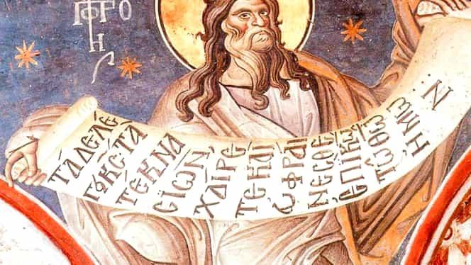 Calendar ortodox, joi, 17 octombrie. Sfântul Proroc Osea a vestit sfârșitul jertfelor Vechiului Testament