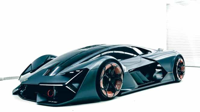 GALERIE FOTO. Lamborghini Terzo Millennio, conceptul unui bolid 100% electric