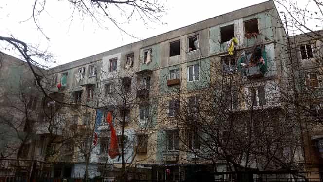 Explozie în Galați. O persoană a ajuns la spital