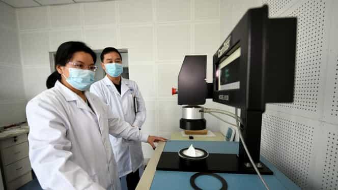 China se laudă cu o nouă performanță: va construi o fabrică de măști medicinale în doar șase zile. Lucrările au început deja