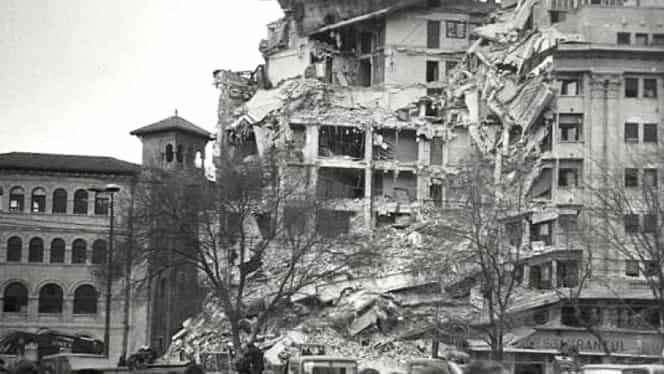 Singura înregistrare audio a cutremurului din 1977. Se aude vuietul seismului însoţit de strigătele îngrozite ale oamenilor