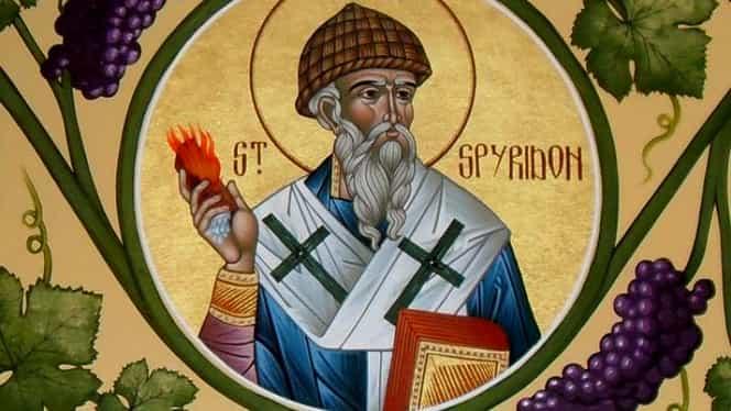 Sfântul Spiridon. Tradiţii şi obiceiuri pentru 12 decembrie. Ce nu ai voie să faci azi