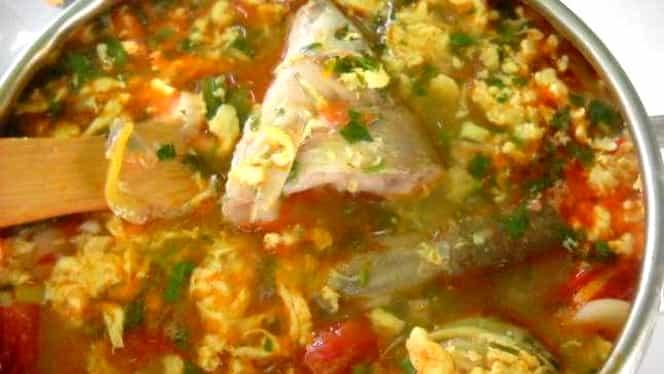 Rețeta zilei. Cum să prepari cel mai bun borș de pește