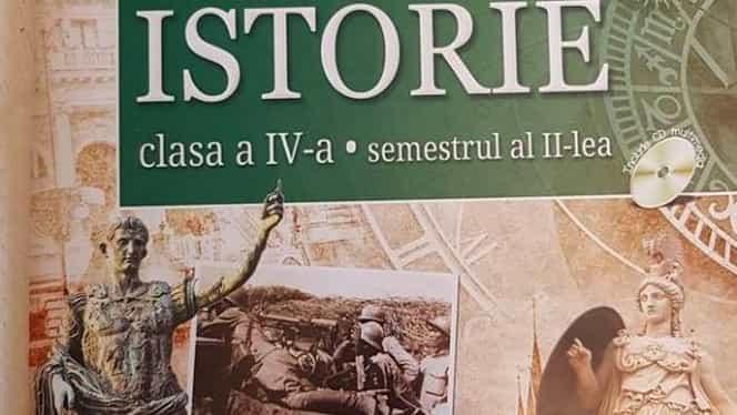 """Manual de istorie plin de greșeli: """"Este o inepție!"""" Ce scrie despre daci"""