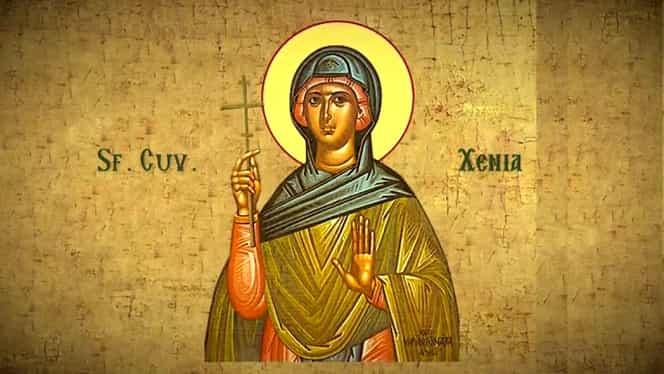 Calendar ortodox 24 ianuarie. Este prăznuită Sfânta Xenia