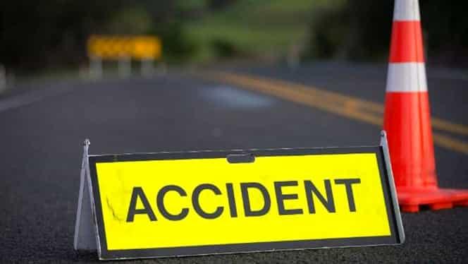 Accident pe autostrada A1, în județul Timiș. Două camioane și 4 mașini, implicate. Sunt 5 răniți – UPDATE