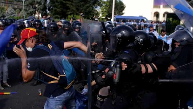 Prima reacție a Jandarmeriei Române după protestul diasporei din 10 august 2018!