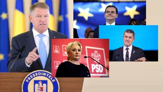 Programul consultărilor de la Palatul Cotroceni din 11 octombrie, anunțat de Klaus Iohannis. PSD, la coadă