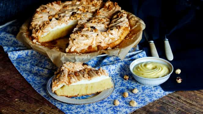 """Rețeta zilei: prăjitura Verdens Beste, """"cea mai bună din lume"""". Desertul național al Norvegiei"""