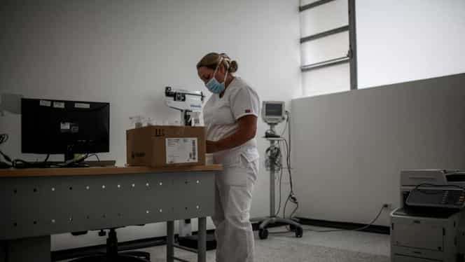 Trei angajați din trei spitale diferite din Galați, confirmați cu noul coronavirus