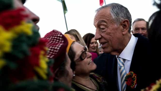 Președintele Portugaliei a intrat în autoizolare în palatul prezidențial din cauza epidemiei de coronavirus