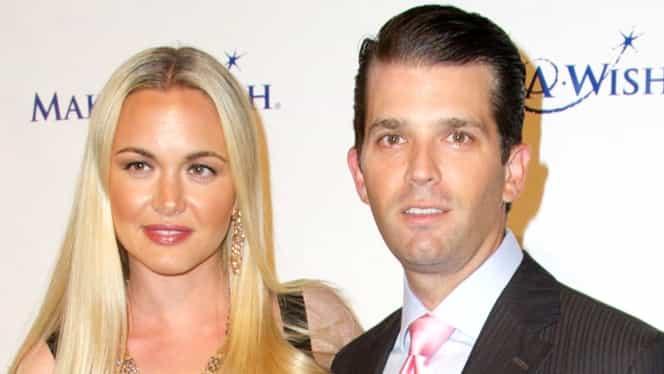 Soţia lui Trump Jr., internată în spital, după ce a deschis un plic suspect