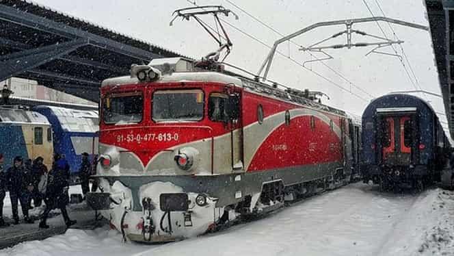 Mersul trenurilor! CFR Călători anunță întârzieri și de 75 de minute, în Gara de Nord