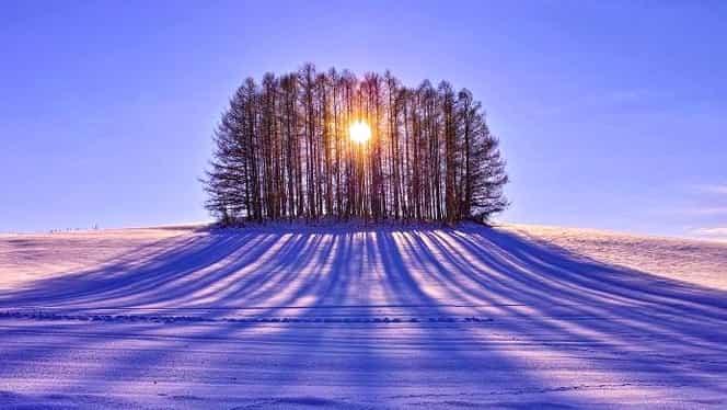 Solstiţiul de iarnă, cea mai scurtă zi din an, dar cea mai lungă noapte!