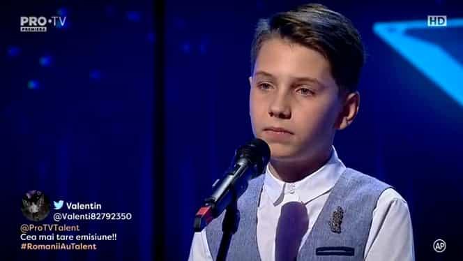 Țigaret Mihai, elevul de nota 10, a luat Golden Buzz la Românii au talent! A lăsat cu gura căscată juriul nu doar pentru felul în care a cântat