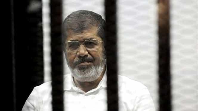 Mohamed Morsi, fostul președinte egiptean, a murit! Se afla în sala de tribunal