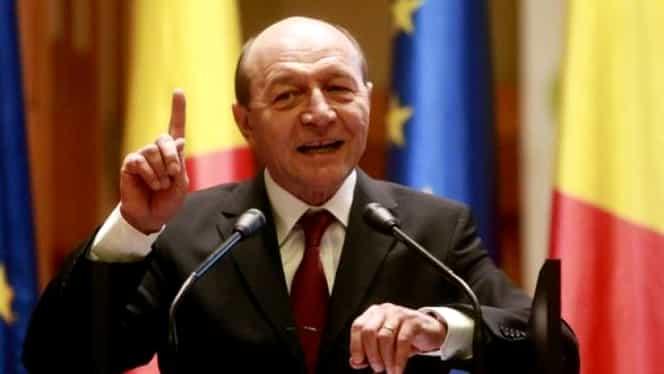 """Reacția lui Traian Băsescu după ce Iohannis a câștigat alegerile: """"Putem să-l declarăm rege. E scor de uns al lui Dumnezeu"""""""