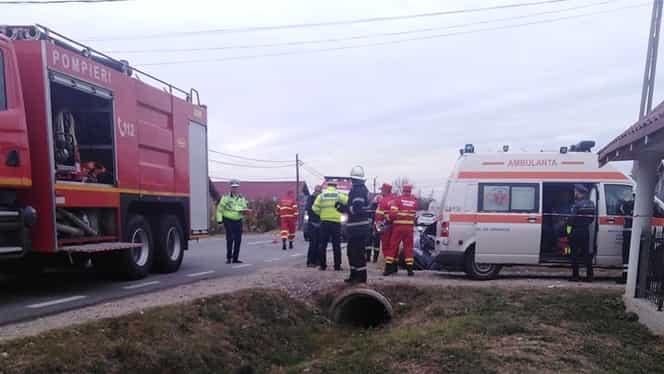 Fiica unui viceprimar din Olt și-a pierdut viața în urma unui accident grav în Argeș