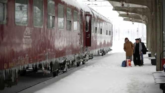 CFR are din nou probleme din cauza vremii extreme! 17 trenuri au fost anulate. Lista completă