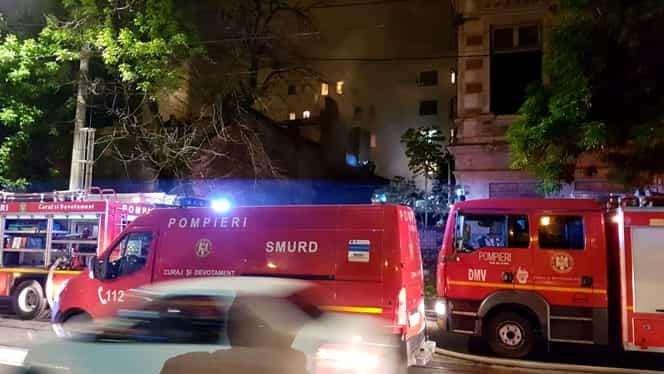 Incendiu devastator la un apartament din Mureș. 13 persoane, dintre care 4 copii au ajuns la spital