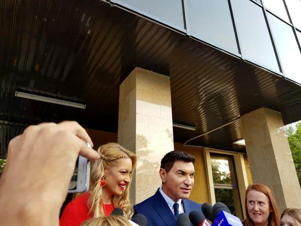 Prima imagine cu Valentina Pelinel și Cristi Borcea de la nuntă
