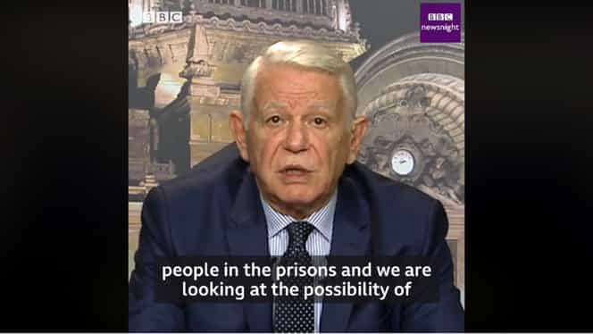 VIDEO Meleșcanu, pus la zid de o jurnalistă BBC pe tema amnistiei! Cum a răspuns ministrul de Externe