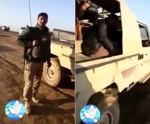 FOTO+VIDEO. Nu mai e aşa de RĂU! Un luptător ISIS plînge ca un copil, după ce a fost CAPTURAT!