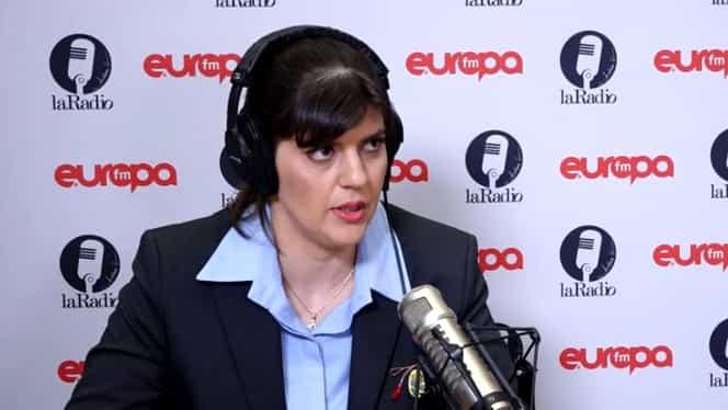 """""""Sex dimineața sau seara?"""" Cum a răspuns Laura Codruța Kovesi la întrebarea pusă de Andreea Esca"""