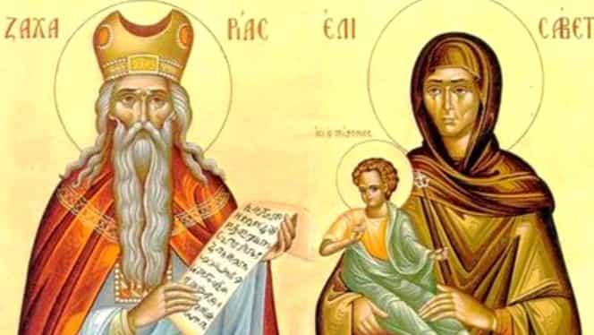 Calendar ortodox, luni, 23 septembrie. Zămislirea Sfântului Ioan Botezătorul, una dintre cele șase sărbători închinate Sfântului Ioan