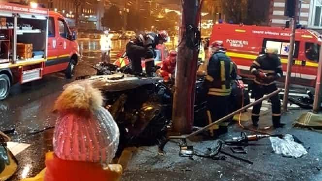 Horror la Galaţi! Câţi tineri au murit într-un accident în centrul oraşului