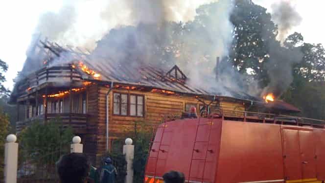 Incendiu de proporții, în comuna Cernica! O persoană a murit, iar doi copii au fost transportați de urgență la spital