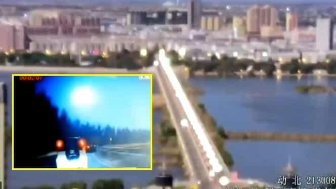 Un meteor a explodat pe cerul Chinei, la intrarea în atmosfera terestră – VIDEO