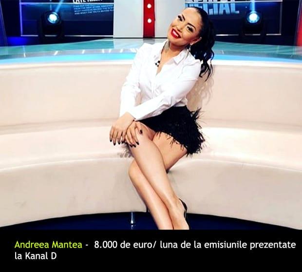 Locul 15 - Andreea Mantea