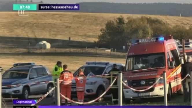 Un avion de agrement a intrat într-un grup de oameni, în Germania. Trei morți