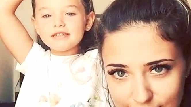 Fiica Antoniei seamănă cu Alex Velea! Maya a apărut tatuată, exact ca artistul