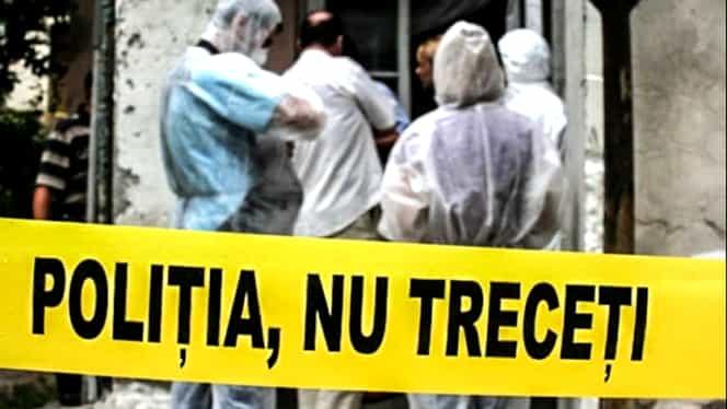 Un cadavru cu o pungă pe cap, descoperit în Capitală. Victima a fost găsită în spatele unui bloc