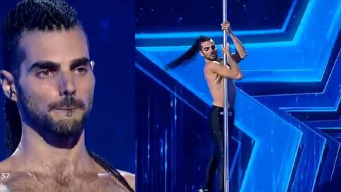 Emil Rengle e istorie! Niv Gradus din Israel, dans pe tocuri la bară la Românii au talent – Video