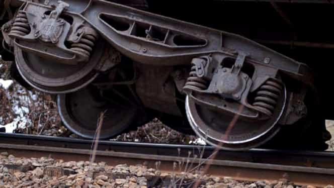 Tren de marfă deraiat la Fetești! Circulația feroviară nu este afectată