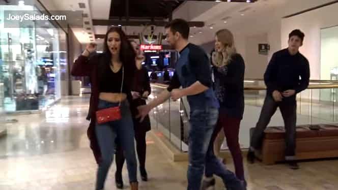 Galerie FOTO. O femeie este agresată sexual în mall! Ce a urmat i-a lăsat mască pe martori!