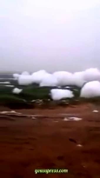 S-au rupt norii şi au căzut pe pământ! Fenomen UNIC în istoria umanităţii