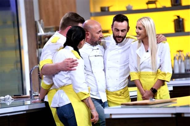 Chefi la Cuțite, echipa galbenă