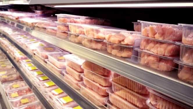 Alertă alimentară! Carne infectată cu gripă aviară, vândută în 26 de județe din țară. Anunțul ANSVSA