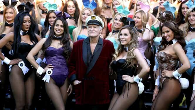 Ultima fotografie în care apare Hugh Hefner i-a lăsat cu gura căscată pe toţi! Cum arăta părintele Playboy FOTO