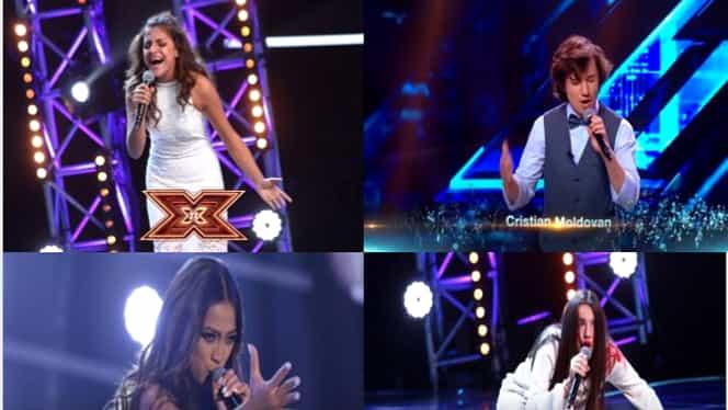 X Factor 2018: Ioana Bulgaru, Doinița Ioniță, Bella Santiago și Cristian Moldovan se întrec în finală