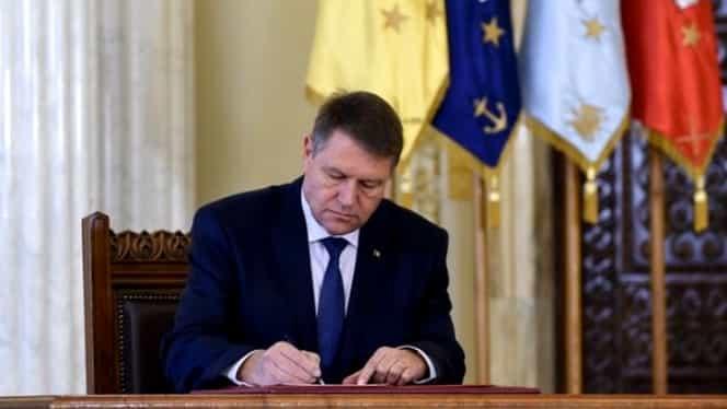 Klaus Iohannis a sesizat CCR în legătură cu o lege! Ce propune președintele