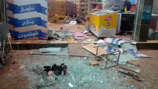 Peste 445 de morţi şi 7100 de răniţi în urma cutremurului care a avut loc la graniţa dintre Iran şi Irak