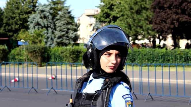 """Femeia jarndarm bătută în timpul protetului diasporei: """"Era mai bine să am coloana ruptă?"""""""