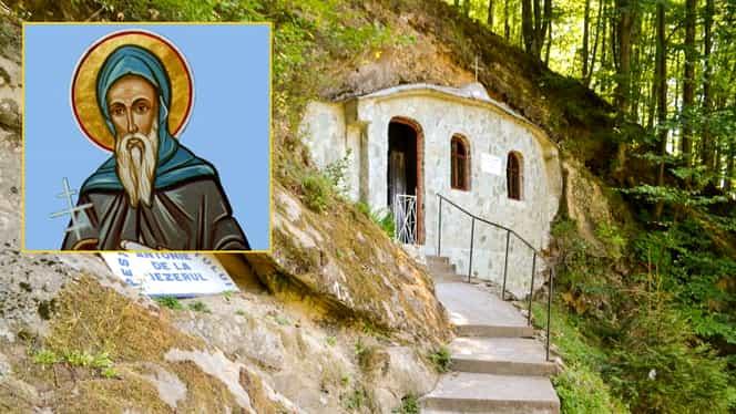 Calendar ortodox: sâmbătă, 23 noiembrie 2019, este pomenit Sfântul Cuvios Antonie de la Iezeru (Vâlcea)