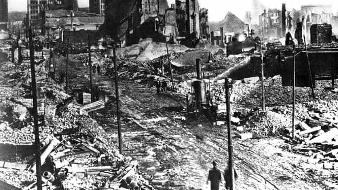 7 februarie, semnificaţii istorice. 1500 de case sunt mistuite de flăcări în oraşul american Baltimore