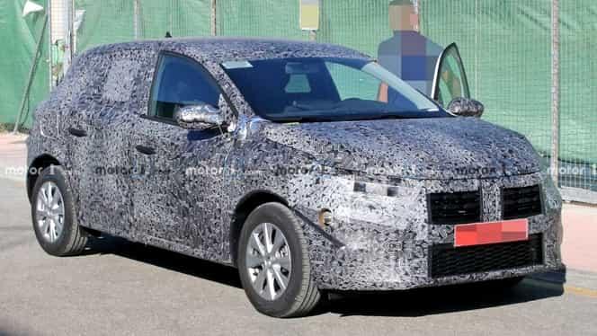Primele imagini cu Dacia Sandero, modelul anului 2020. Va fi, probabil, un hit al uzinei de la Mioveni